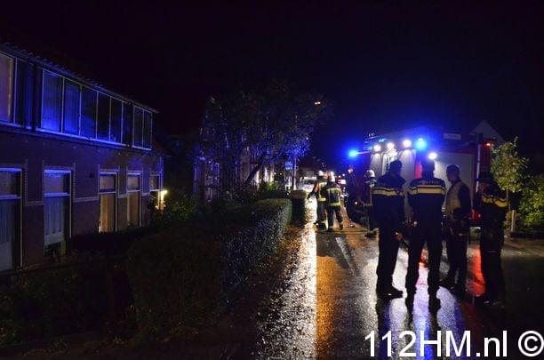 Binnenbrand Noordeinde Moerkapelle (5)