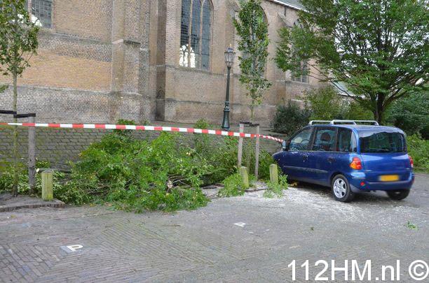 Boom op Auto Moordrecht (1)