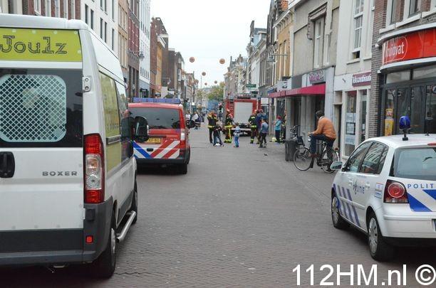 Explosie op Kleiweg in Gouda (2)