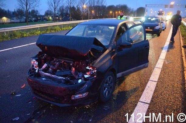 Ongeval - Kettingbotsing Moordrecht (25)