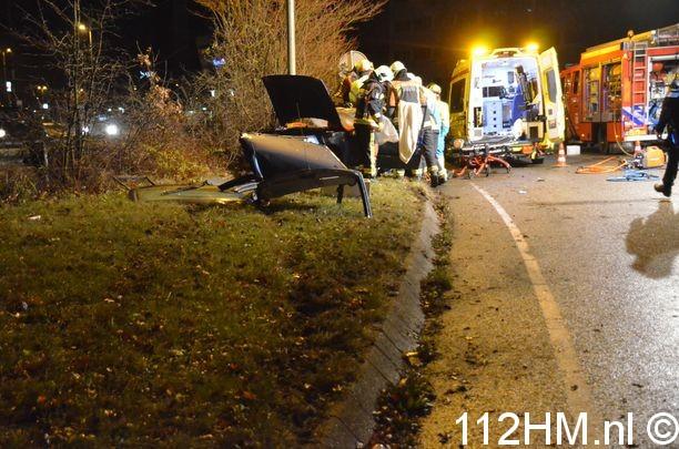 Ongeval met beknelling Goudse Poort Gouda (15)