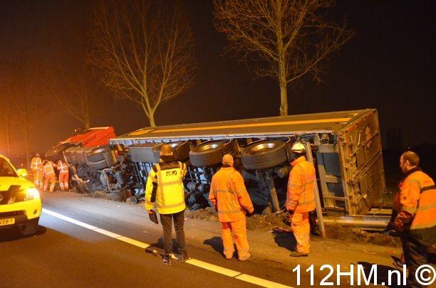 Berging ongeval A20 (5)