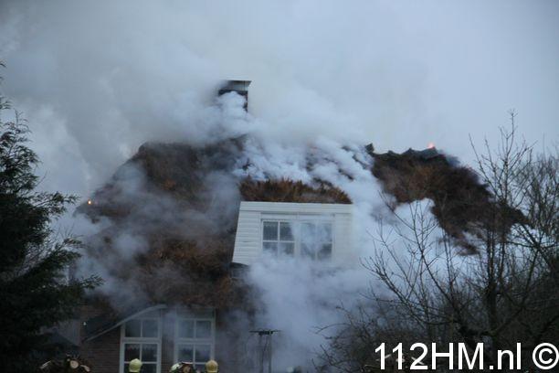 Grote brand Meent Krimpen (12)