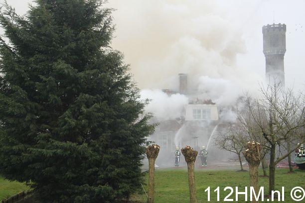 Grote brand Meent Krimpen (4)