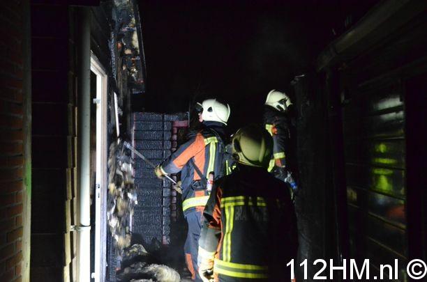 Schuren in brand Hovenierskade Gouda (16)