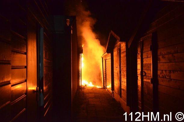 Schuren in brand Hovenierskade Gouda (2)