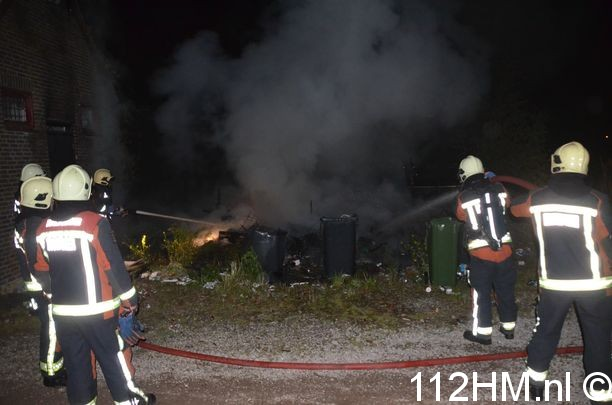 Brand in schuur Reeuwijk (15)