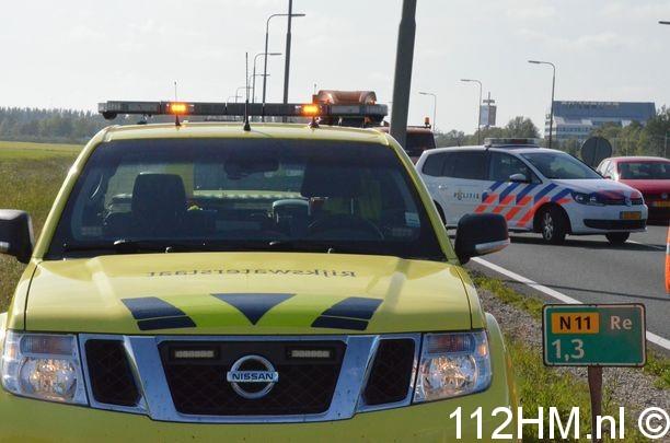 Ongeval N11 Zoeterwoude (6)