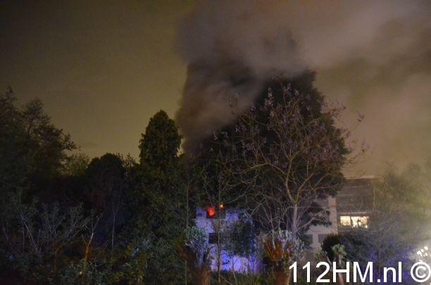 Uitslaande brand Achterwillenseweg Gouda (1)