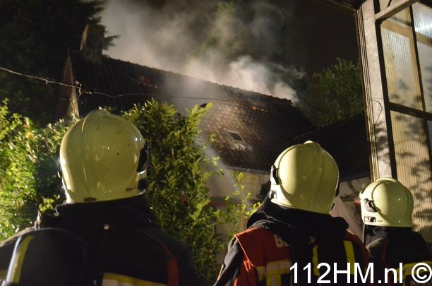 Uitslaande brand Achterwillenseweg Gouda (21)