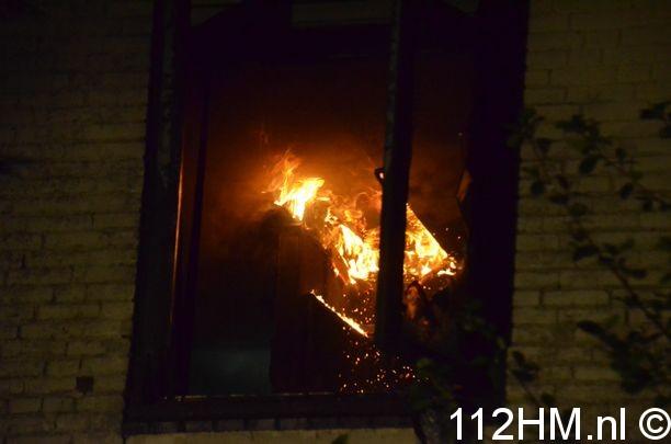 Uitslaande brand Achterwillenseweg Gouda (27)