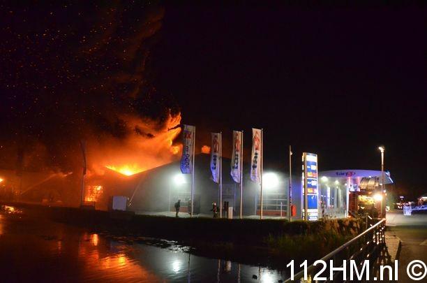 Zeer grote brand Kouwe Hoek Waddinxveen (5)