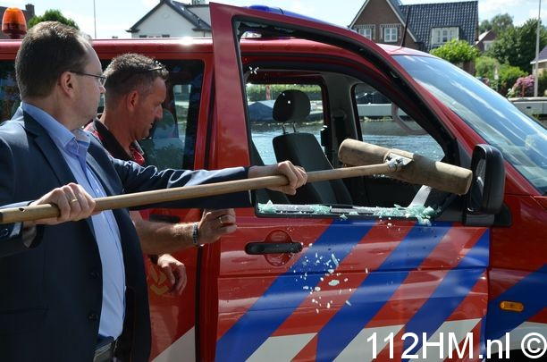 Inbraak brandweerbus (9)