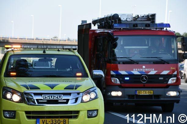 Voertuigbrand A12 RWK (2)
