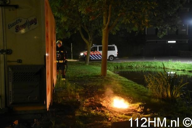 Voertuigbrand Gouda (2)