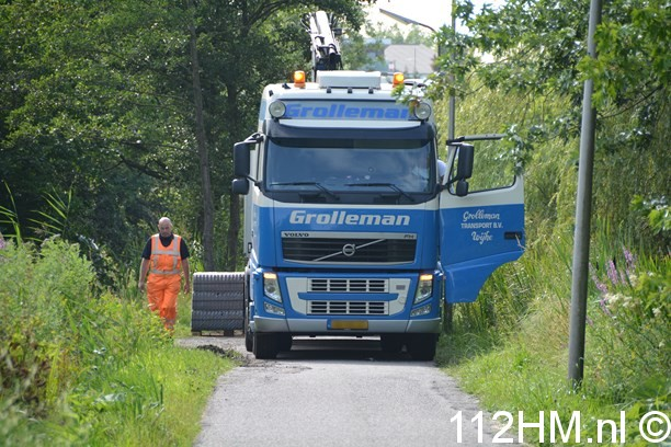 Vrachtwagen weggezakt Voorwillenseweg GDA (13) (Kopie)