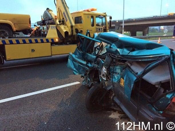 Ongeval A12 Waddinxveen (1)