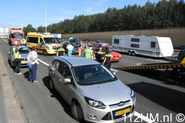 Ongevallen op de A12 bij Waddinxveen (6)