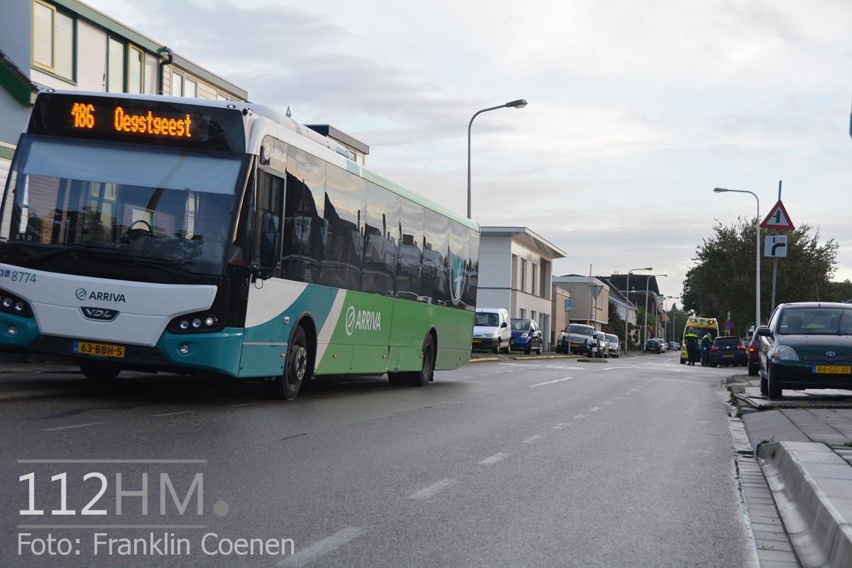 Auto tegen lijnbus Noordkade WDN (10) (Kopie)