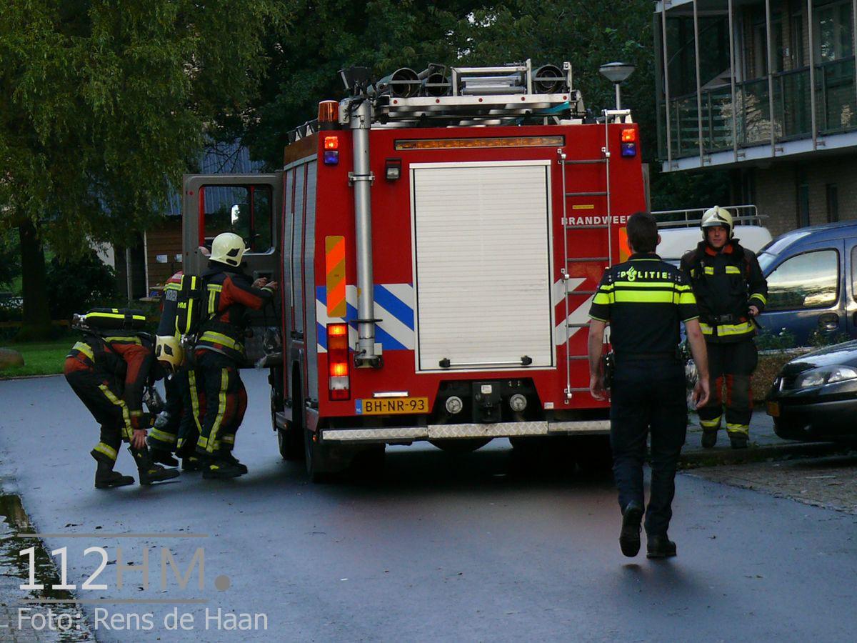 BBQ lijkt brand in Boskoop (2)