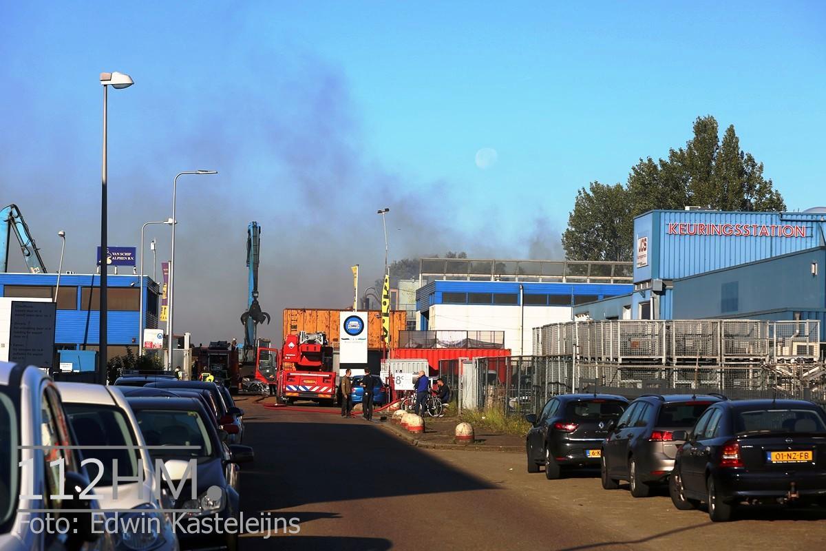 Middelbrand Bronsweg Alphen aan den Rijn (1)