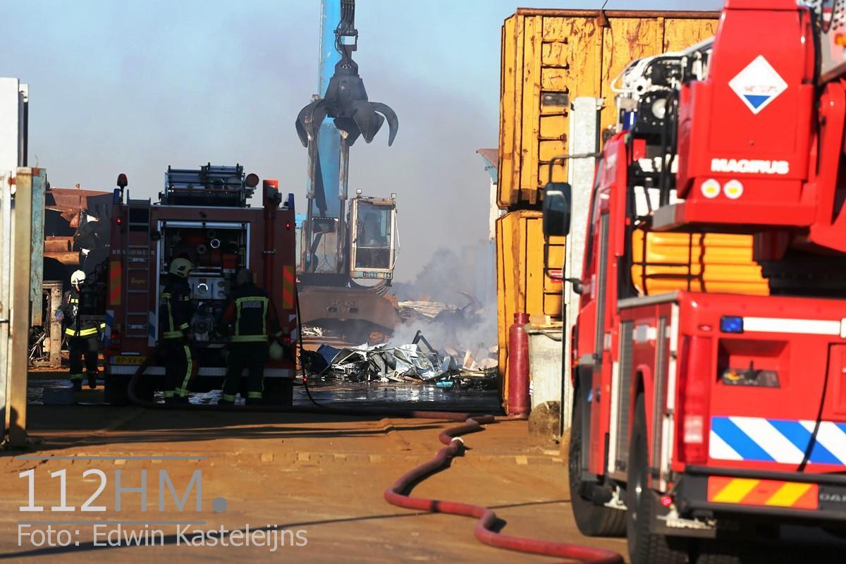 Middelbrand Bronsweg Alphen aan den Rijn (2)