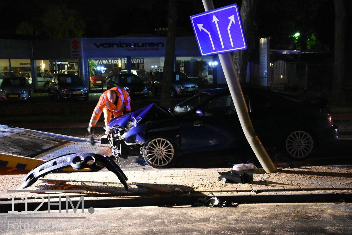 Ongeval Burgemeester van Reenensingel Gouda (2)