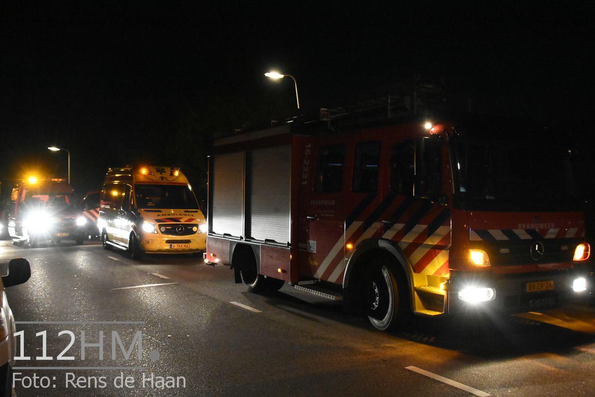 Persoon te water Bodegraven Doortocht (1)