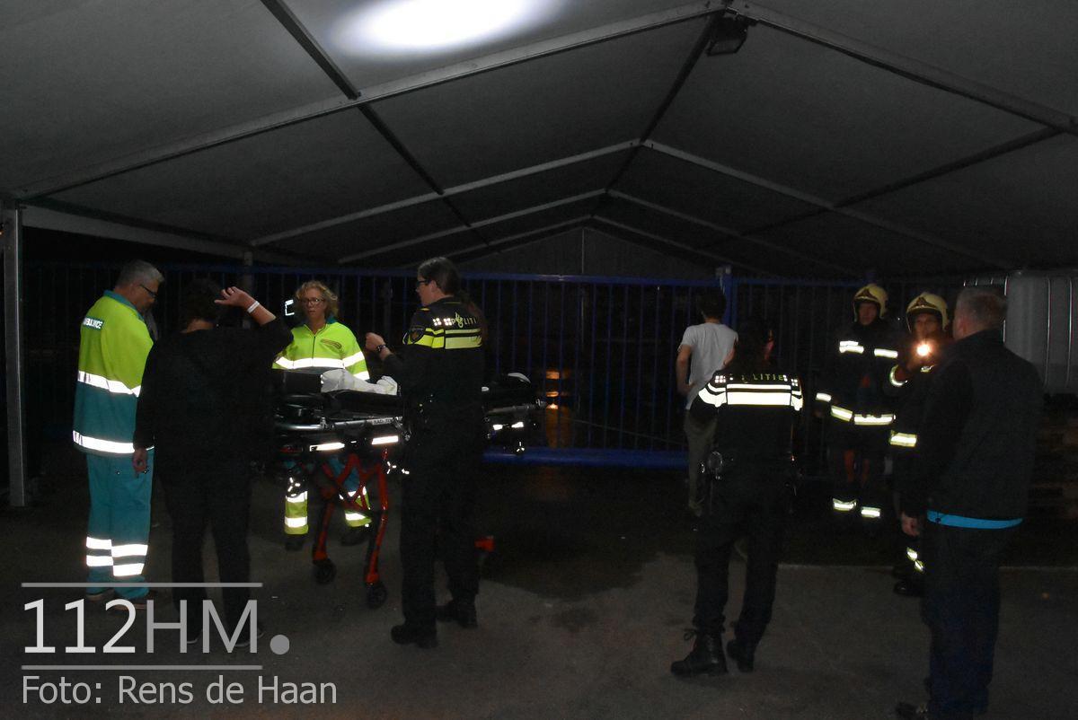 Persoon te water Bodegraven Doortocht (5)