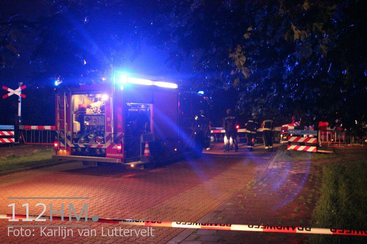 Treinincident Snijdelwijklaan Boskoop (1)