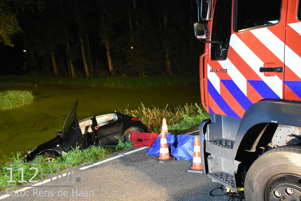 Voertuig te water Nieuwerkerk Schielandweg (13)