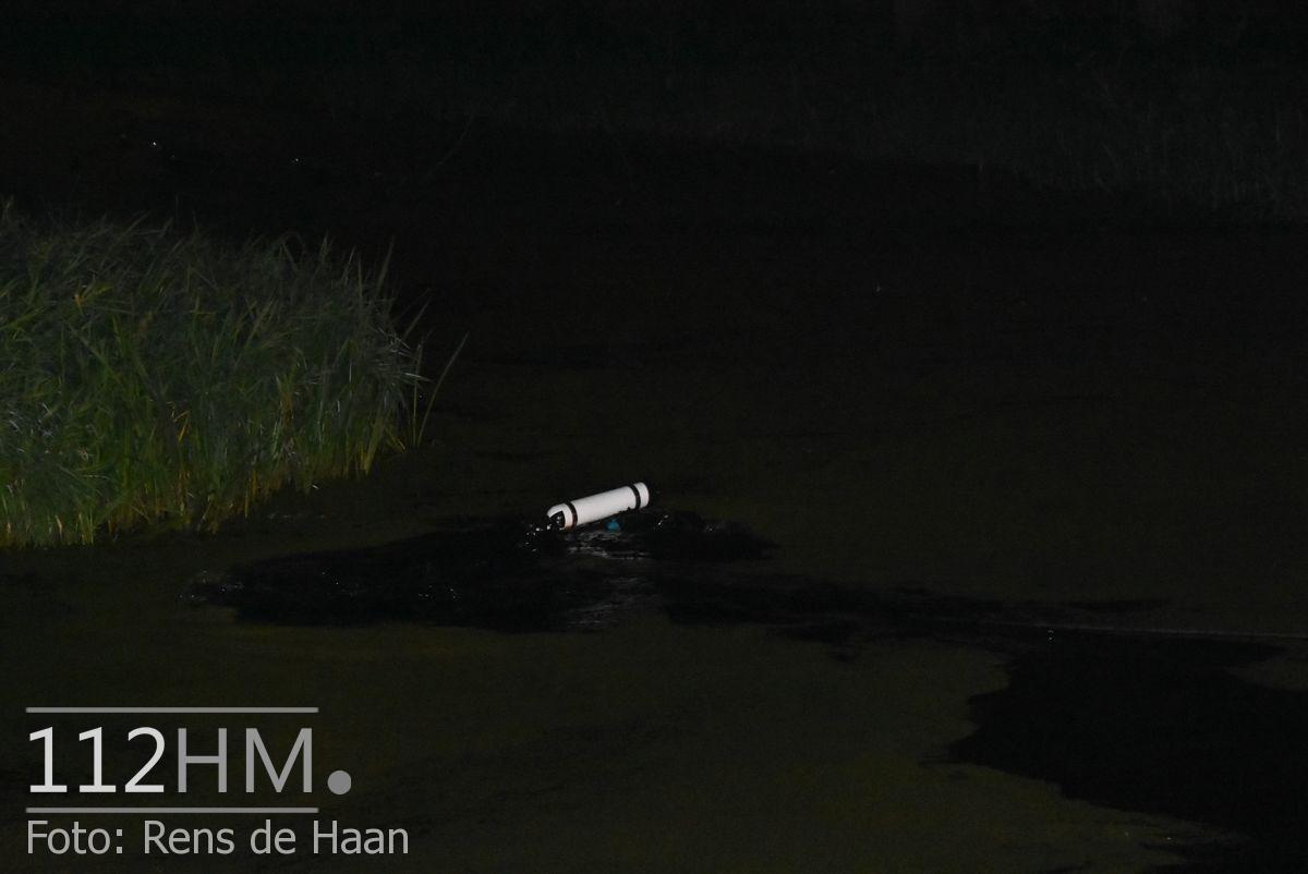 Voertuig te water Nieuwerkerk Schielandweg (4)