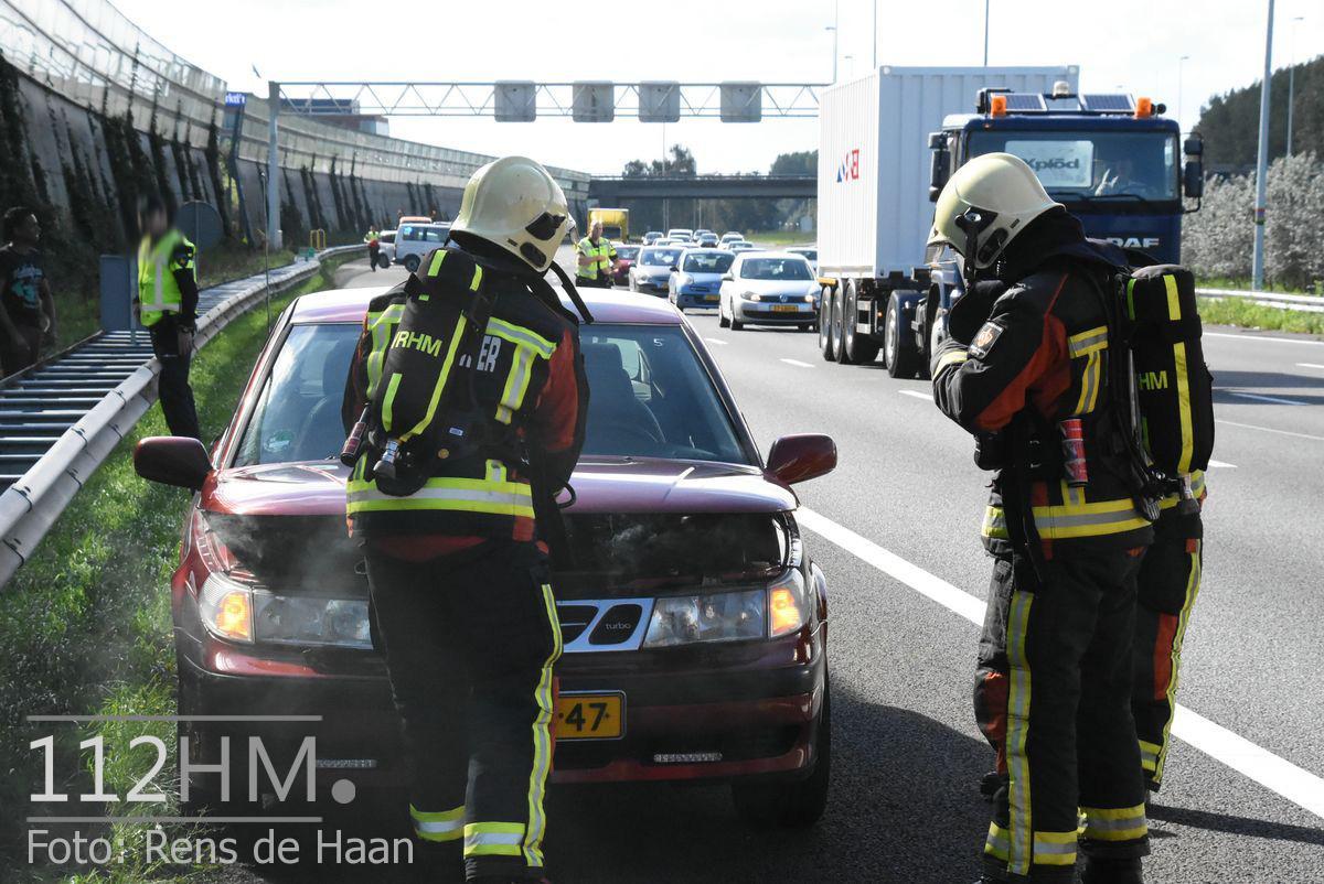 Voertuigbrand A12 Waddinxveen (3)