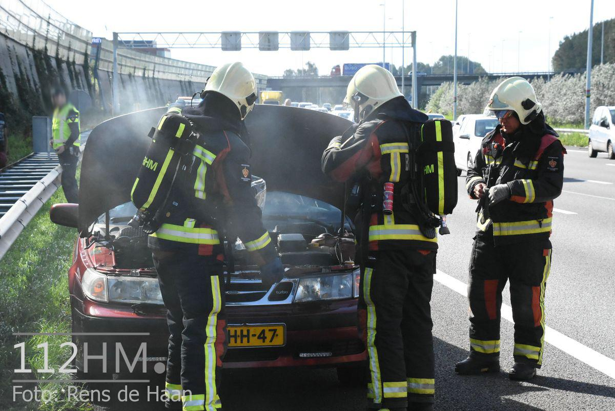 Voertuigbrand A12 Waddinxveen (4)