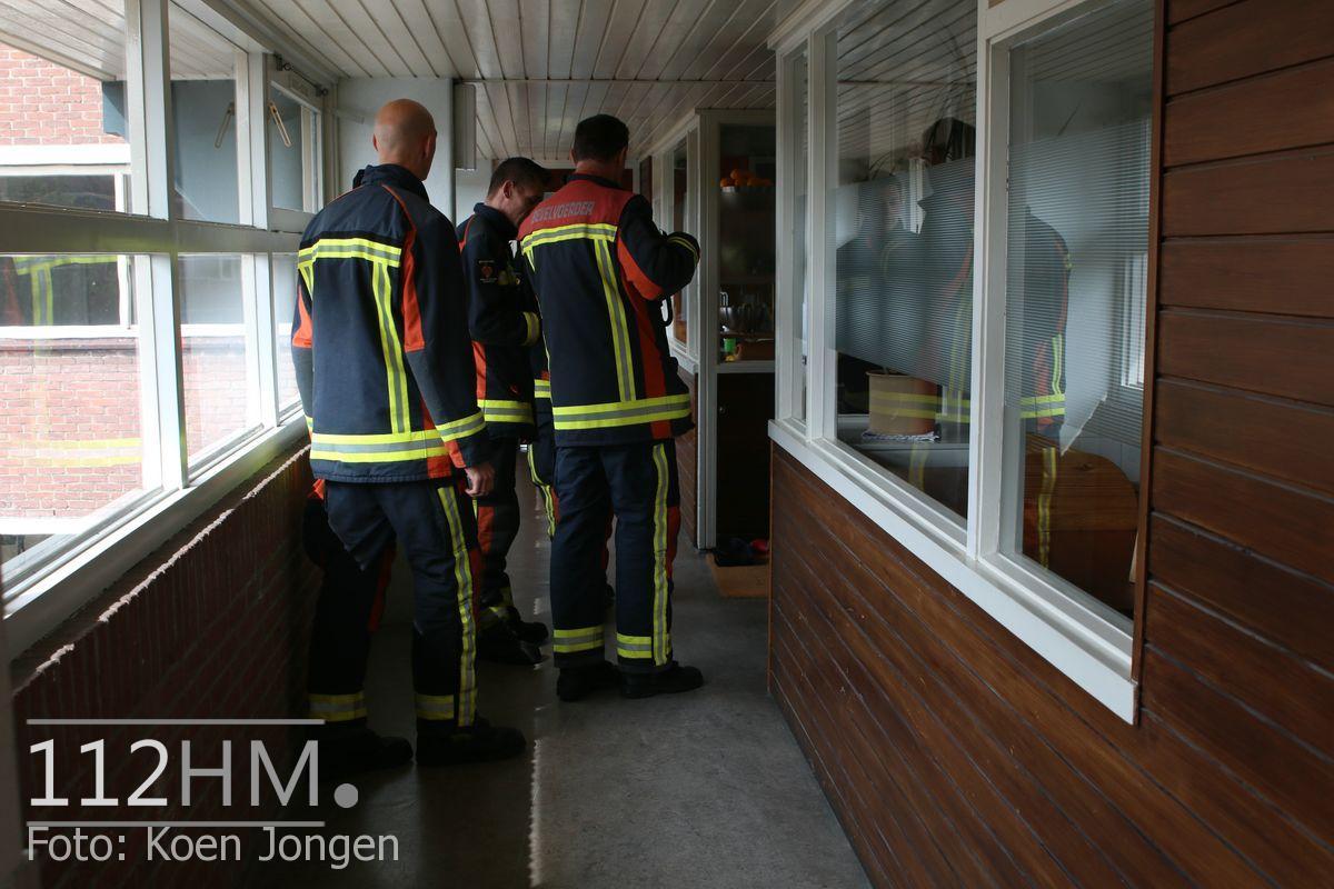 Wateroverlast Van Diepeningenlaan Leiderdorp (5)