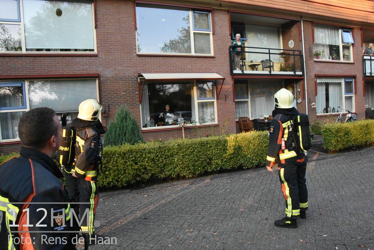 Brandgerucht Hugo de Vrieslaan GDA (1)