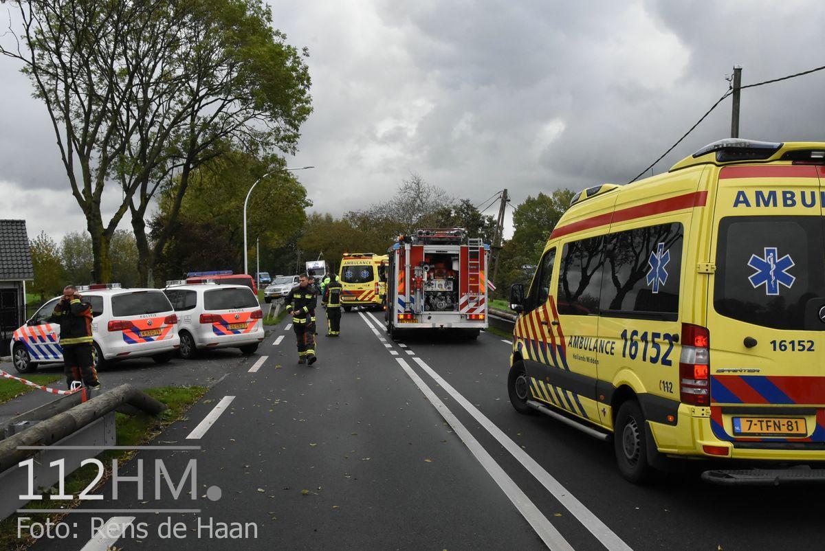 Dodelijk ongeval Provincialeweg Oost - N228 Haastrecht (1)