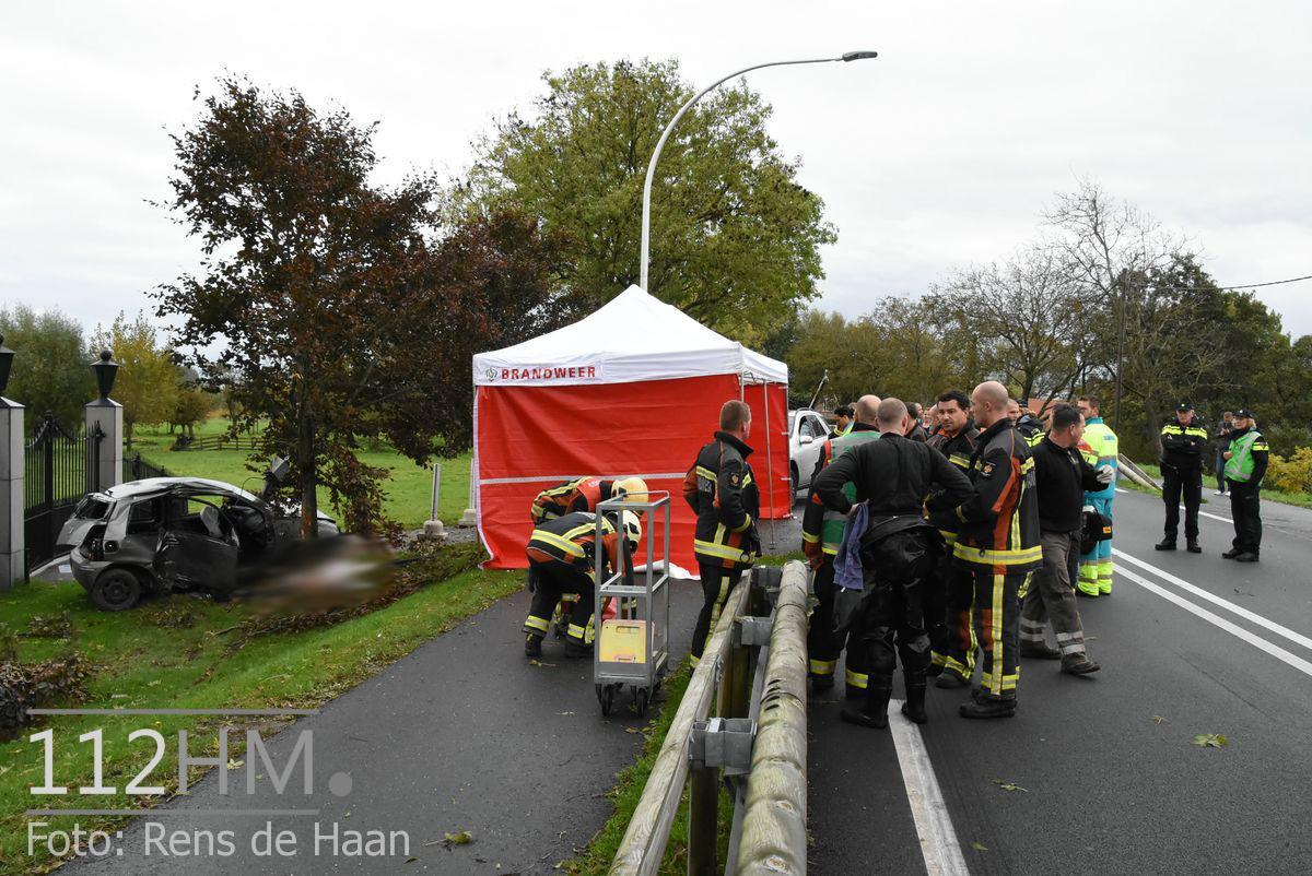 Dodelijk ongeval Provincialeweg Oost - N228 Haastrecht (10)