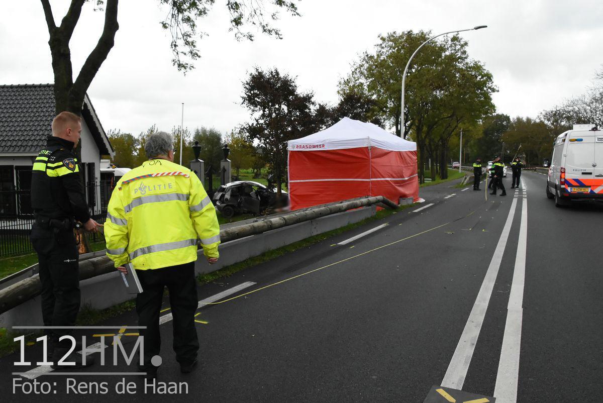 Dodelijk ongeval Provincialeweg Oost - N228 Haastrecht (13)