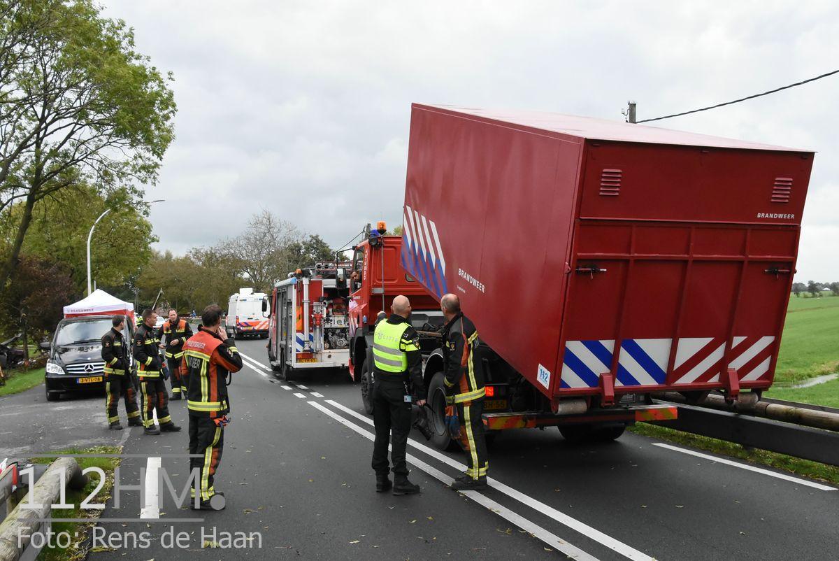 Dodelijk ongeval Provincialeweg Oost - N228 Haastrecht (19)