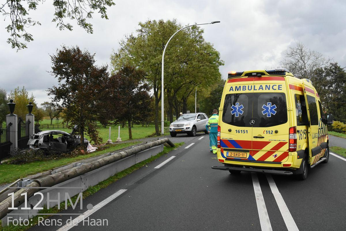 Dodelijk ongeval Provincialeweg Oost - N228 Haastrecht (2)