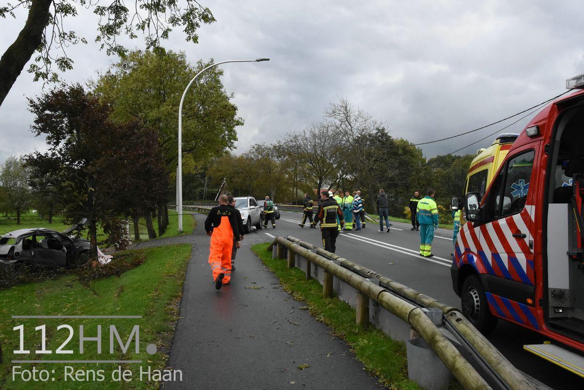 Dodelijk ongeval Provincialeweg Oost - N228 Haastrecht (3)
