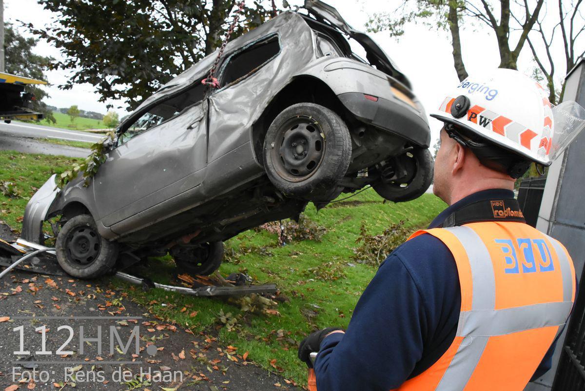 Dodelijk ongeval Provincialeweg Oost - N228 Haastrecht (32)