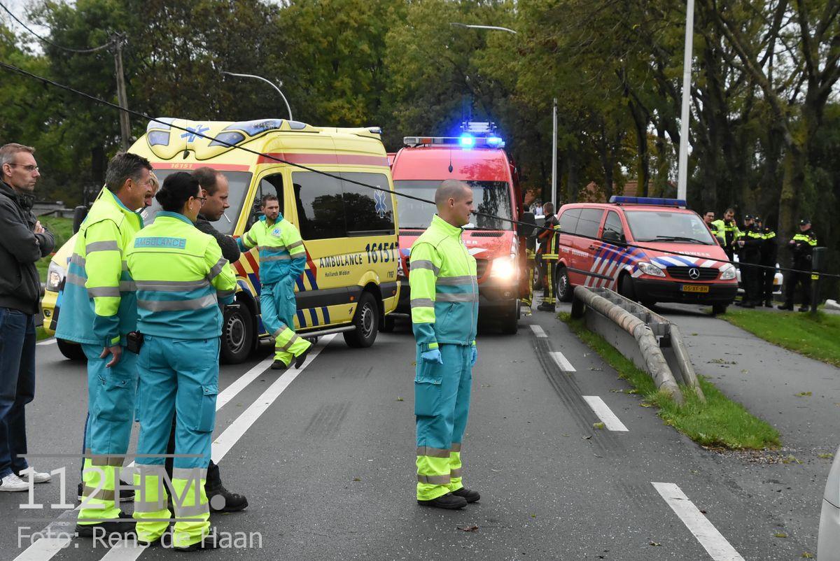 Dodelijk ongeval Provincialeweg Oost - N228 Haastrecht (4)