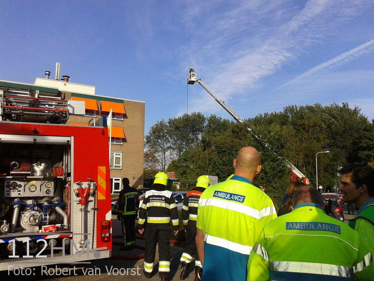 Grote brand Lisse (4)