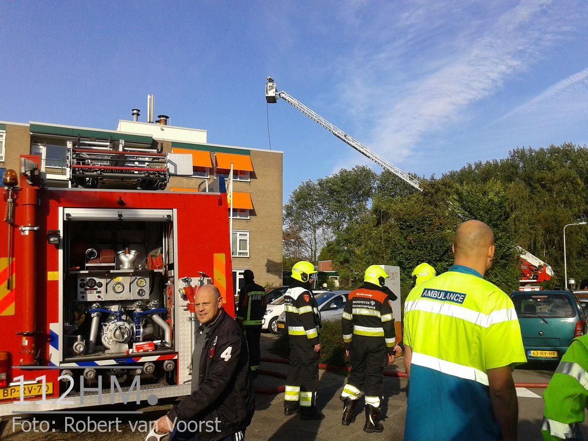 Grote brand Lisse (5)