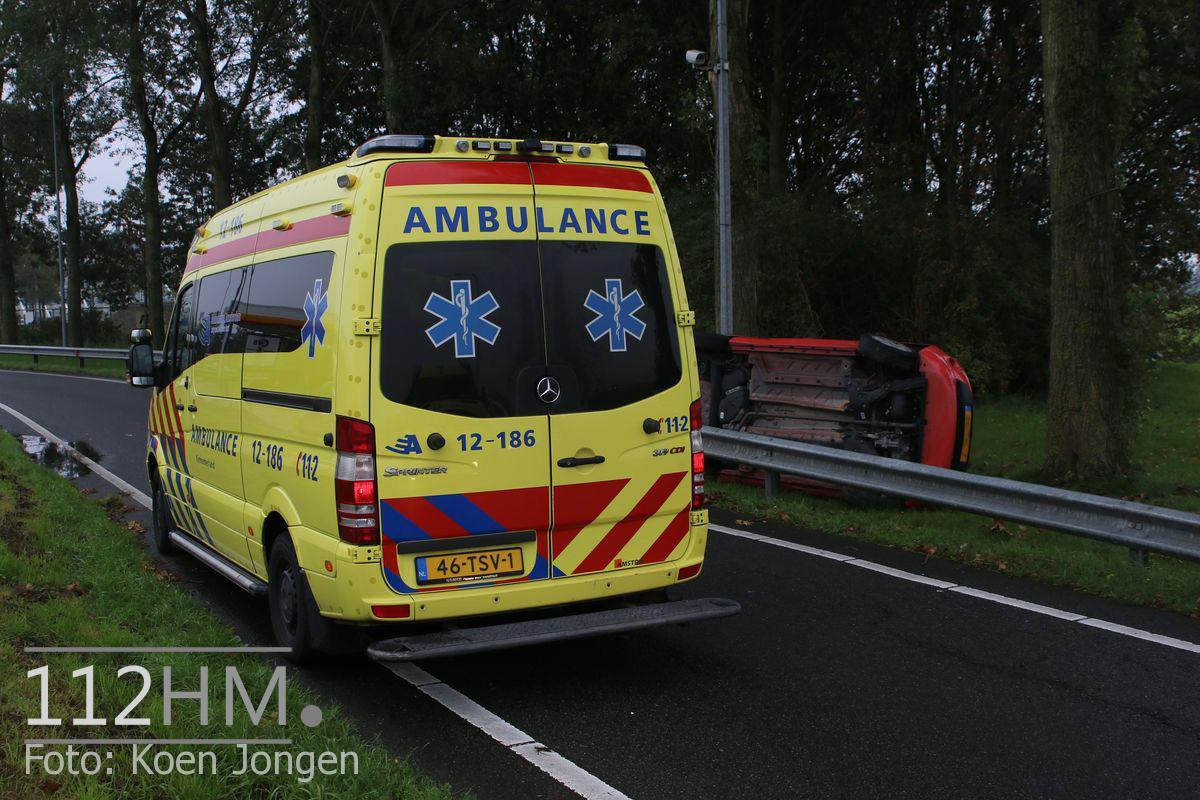 Ongeval A4 Hoofddorp (1)