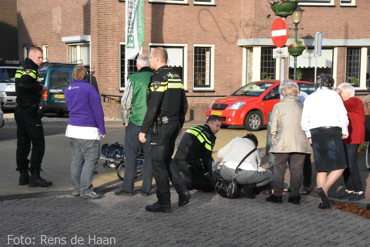 Ongeval Hoofdstraat Bergambacht (1)