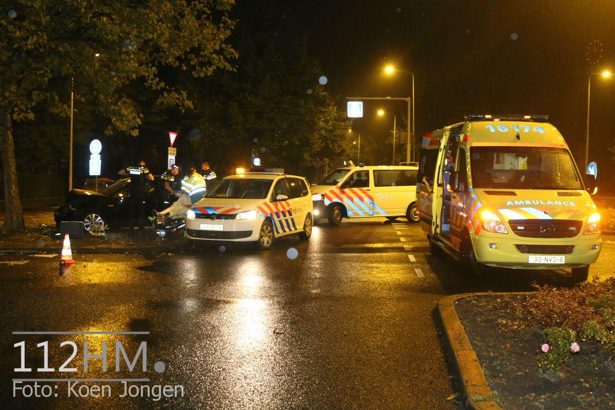 Ongeval Lammenschansweg Leiden (1)