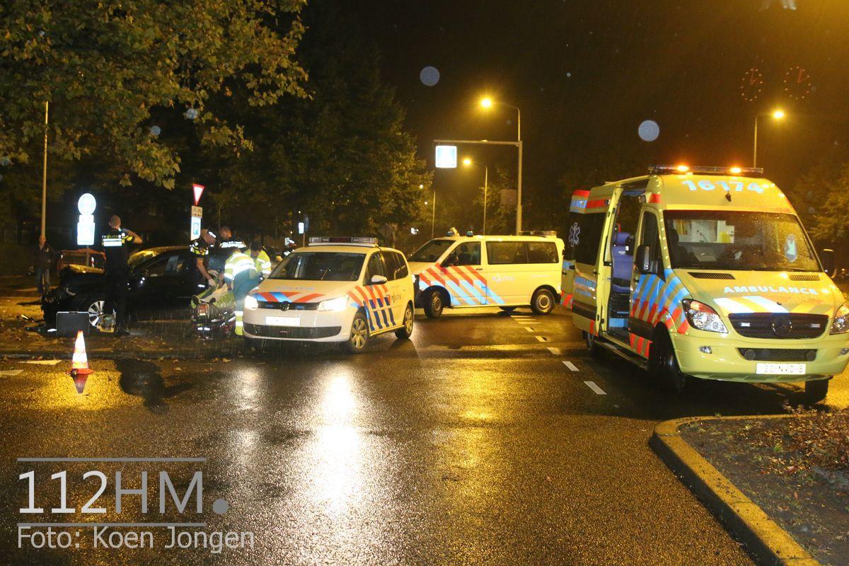 Ongeval Lammenschansweg Leiden (2)